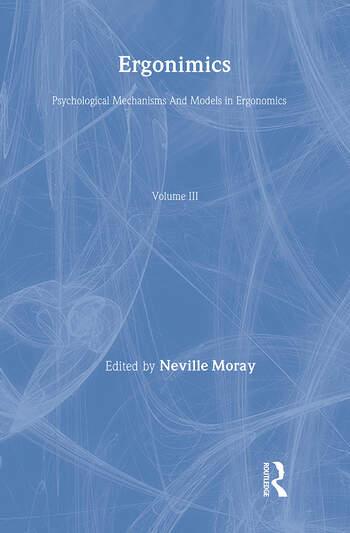 Ergonomics Mw Vol 3:Psych Mech book cover