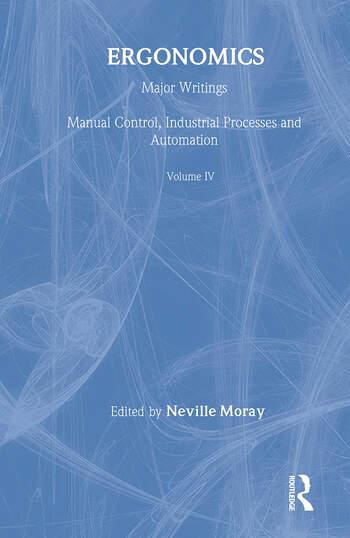 Ergonomics Mw Vol 4: Manu Cont book cover