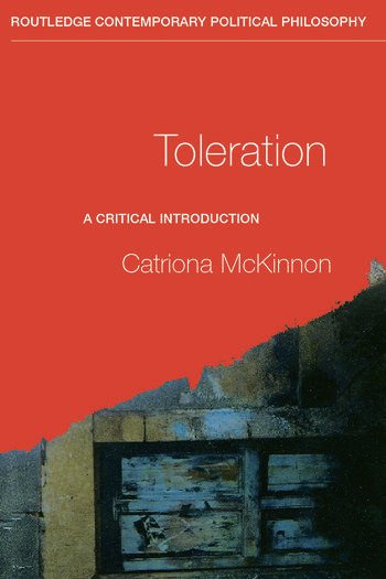 Toleration A Critical Introduction book cover