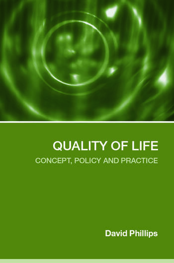 Quality of Life Concept, Policy and Practice book cover