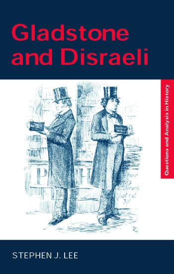 Gladstone and Disraeli book cover