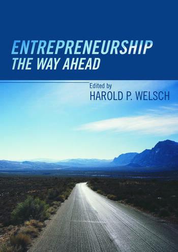 Entrepreneurship The Way Ahead book cover