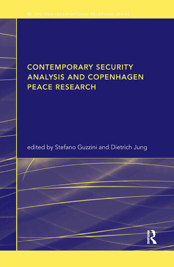 Contemporary Security Analysis and Copenhagen Peace Research book cover