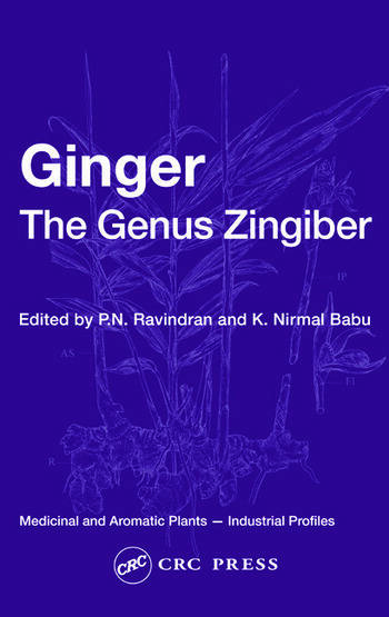 Ginger The Genus Zingiber book cover
