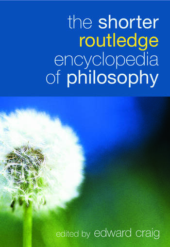 The Shorter Routledge Encyclopedia of Philosophy book cover