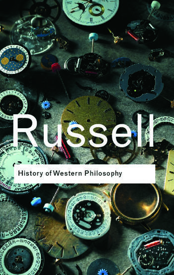 History of Western Philosophy book cover