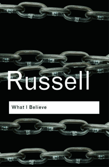 What I Believe book cover
