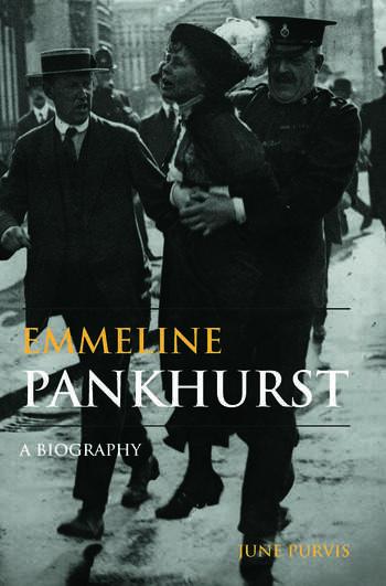 Emmeline Pankhurst A Biography book cover