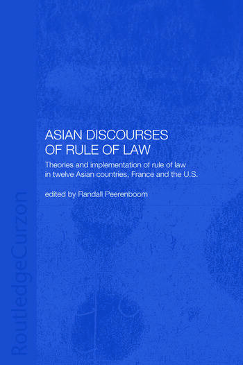 Asian Discourses of Rule of Law book cover