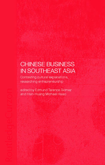 Chinese Business in Southeast Asia book cover