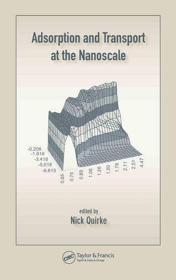 Adsorption and Transport at the Nanoscale book cover