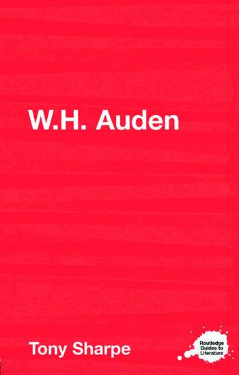 W.H. Auden book cover