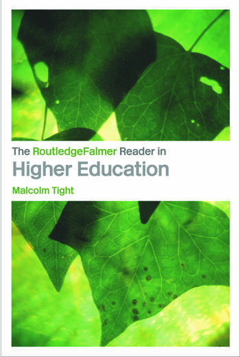 The RoutledgeFalmer Reader in Higher Education book cover