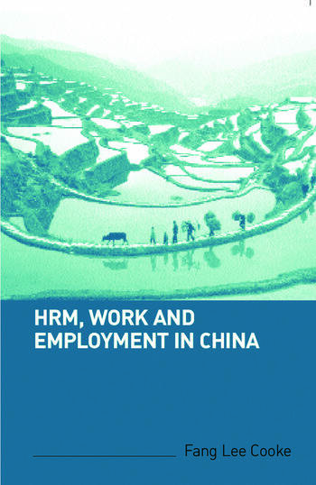 HRM, Work and Employment in China book cover