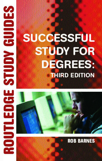 Successful Study for Degrees book cover