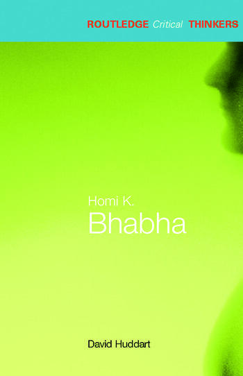 Homi K. Bhabha book cover