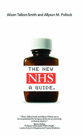 The New NHS A Guide book cover