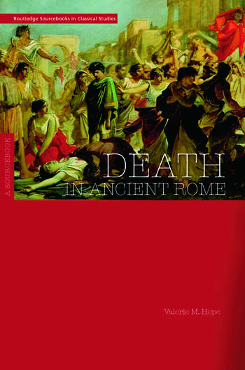Death in Ancient Rome A Sourcebook book cover