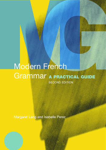 Modern French Grammar A Practical Guide book cover