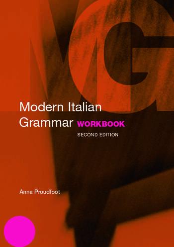 Modern Italian Grammar Workbook book cover