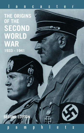 The Origins of the Second World War 1933-1941 book cover