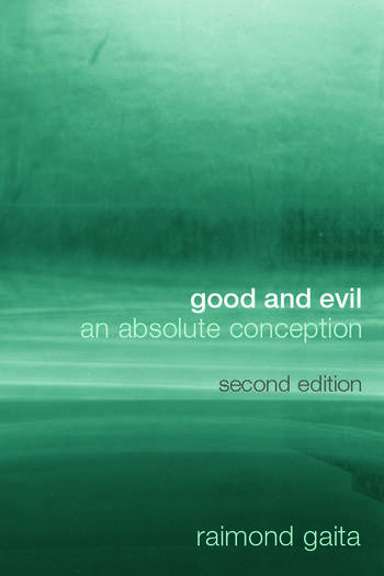 Good and Evil An Absolute Conception book cover