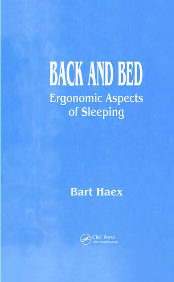 Back and Bed Ergonomic Aspects of Sleeping book cover