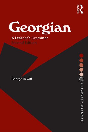 Georgian A Learner's Grammar book cover