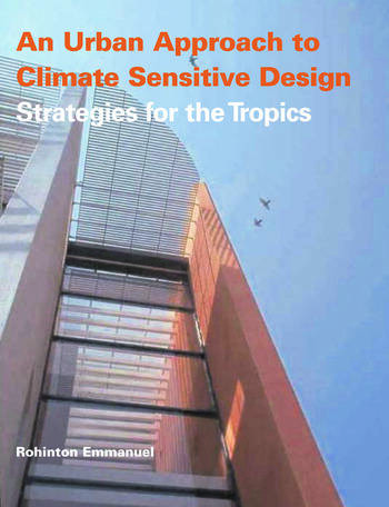 An Urban Approach To Climate Sensitive Design Strategies for the Tropics book cover