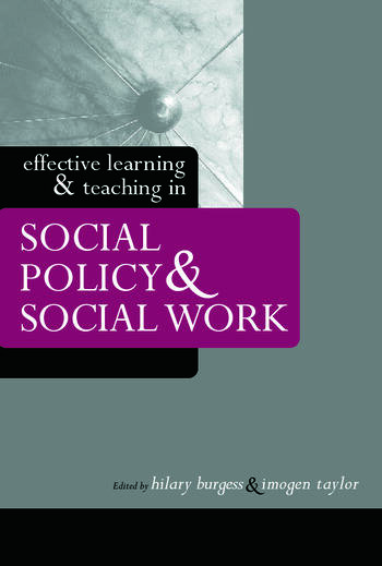 Effective Learning and Teaching in Social Policy and Social Work book cover