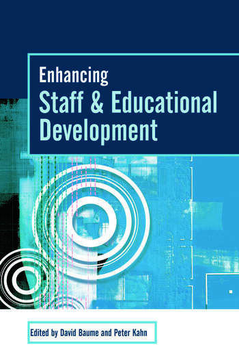 Enhancing Staff and Educational Development book cover