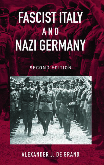 Fascist Italy and Nazi Germany The 'Fascist' Style of Rule book cover
