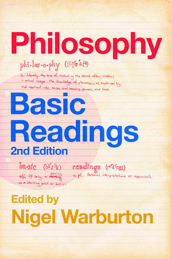 Philosophy: Basic Readings book cover