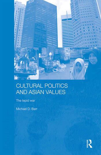 Cultural Politics and Asian Values book cover
