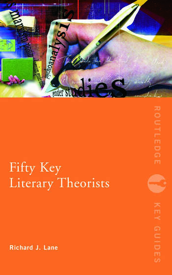 Fifty Key Literary Theorists book cover