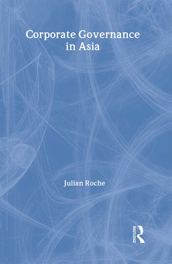 Corporate Governance in Asia book cover