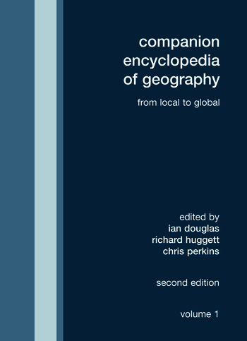 Companion Encyclopedia of Geography From the Local to the Global book cover