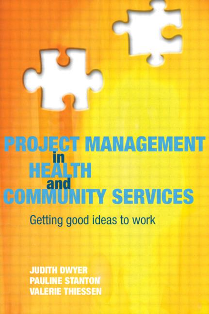 Project Management in Health and Community Services book cover