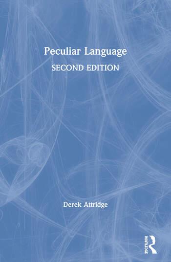 Peculiar Language book cover