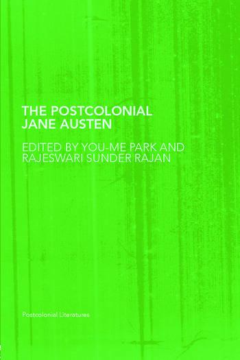 The Postcolonial Jane Austen book cover