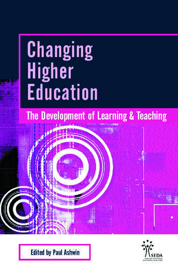 Changing Higher Education The Development of Learning and Teaching book cover