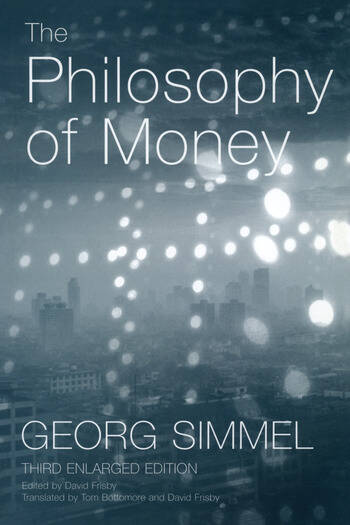 The Philosophy of Money book cover