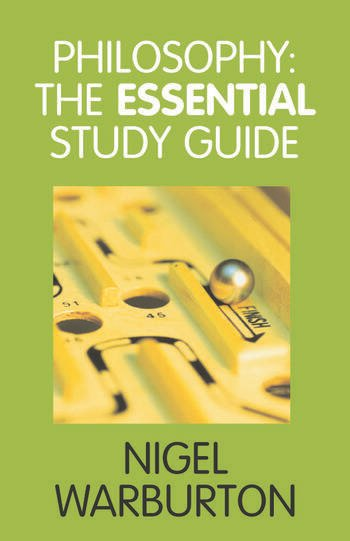 Philosophy: The Essential Study Guide book cover
