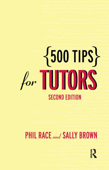 500 Tips for Tutors book cover