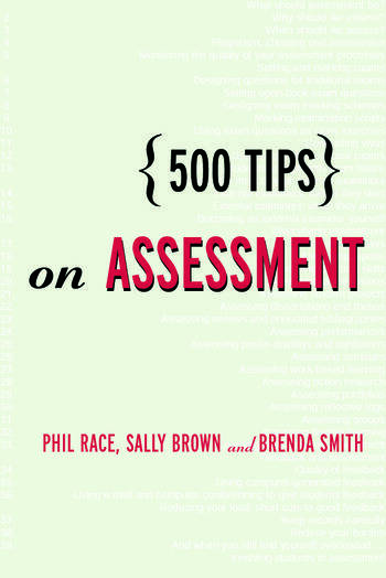 500 Tips on Assessment book cover