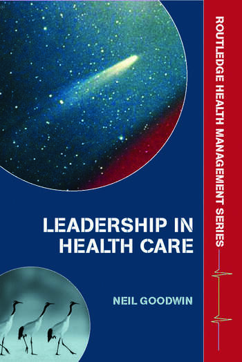 Leadership in Health Care A European Perspective book cover
