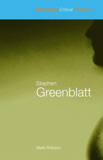 Stephen Greenblatt book cover