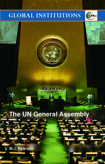 The UN General Assembly book cover