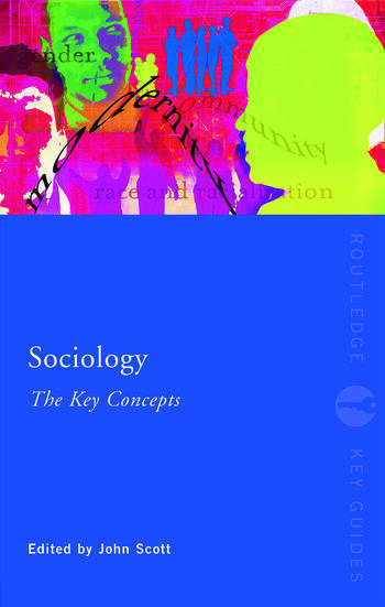 Sociology: The Key Concepts book cover