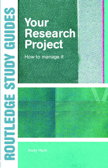 Your Research Project How to Manage it book cover